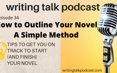 Episode 34 – How to Outline Your Novel – A Simple Method (in lockdown or not)