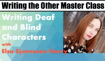 Writing Deaf and Blind Characters Class Purchase