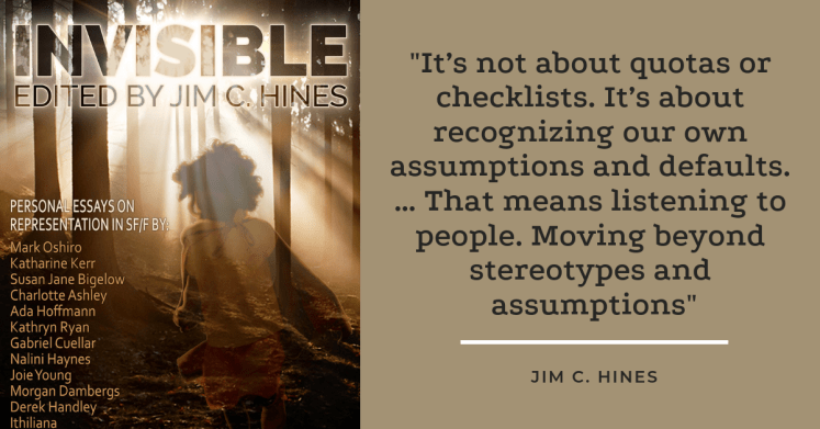 Invisible: Personal Essays on Representation in SFF