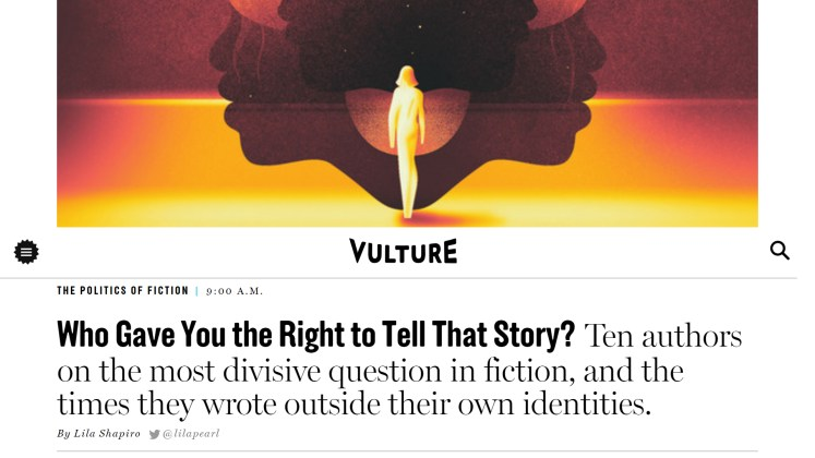 Who Gave You the Right to Tell That Story?