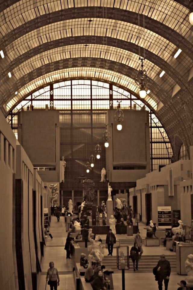 Great hall, Musee d'Orsay, Paris