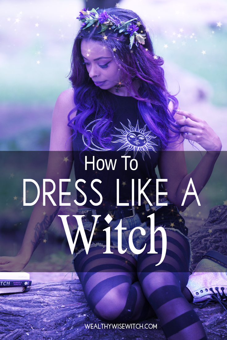 how to dress like a witch pinterest