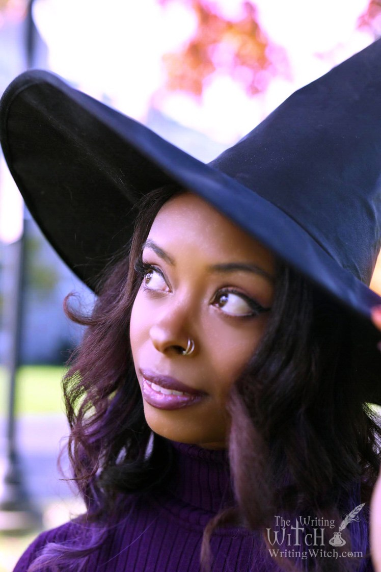 witch wearing a pointed hat