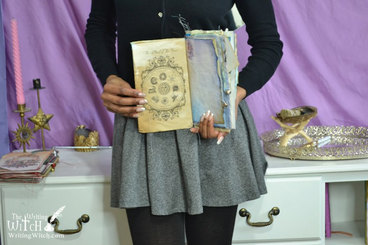diy wheel of the year junk journal grimoire pages