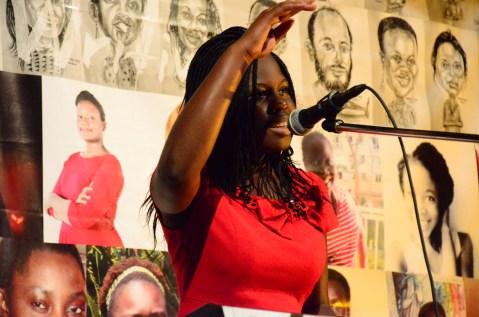Afrie sings