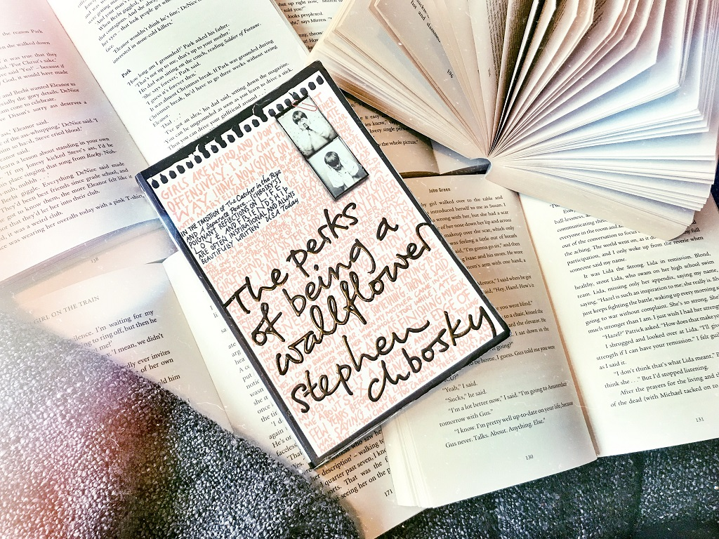 written by charlotte, the perks of being a wallflower, fave reads, books that made me a reader, book bloggers