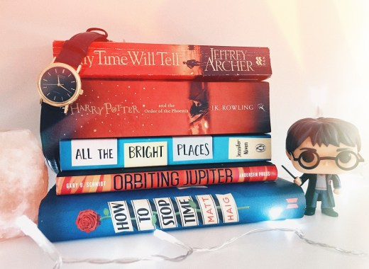 This post is about what i read last month! I read five books, which isnt too bad, but i could have done better!