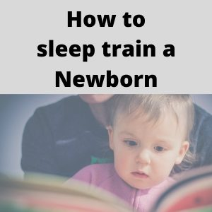 sleep train newborn