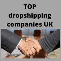 top dropshipping companies UK