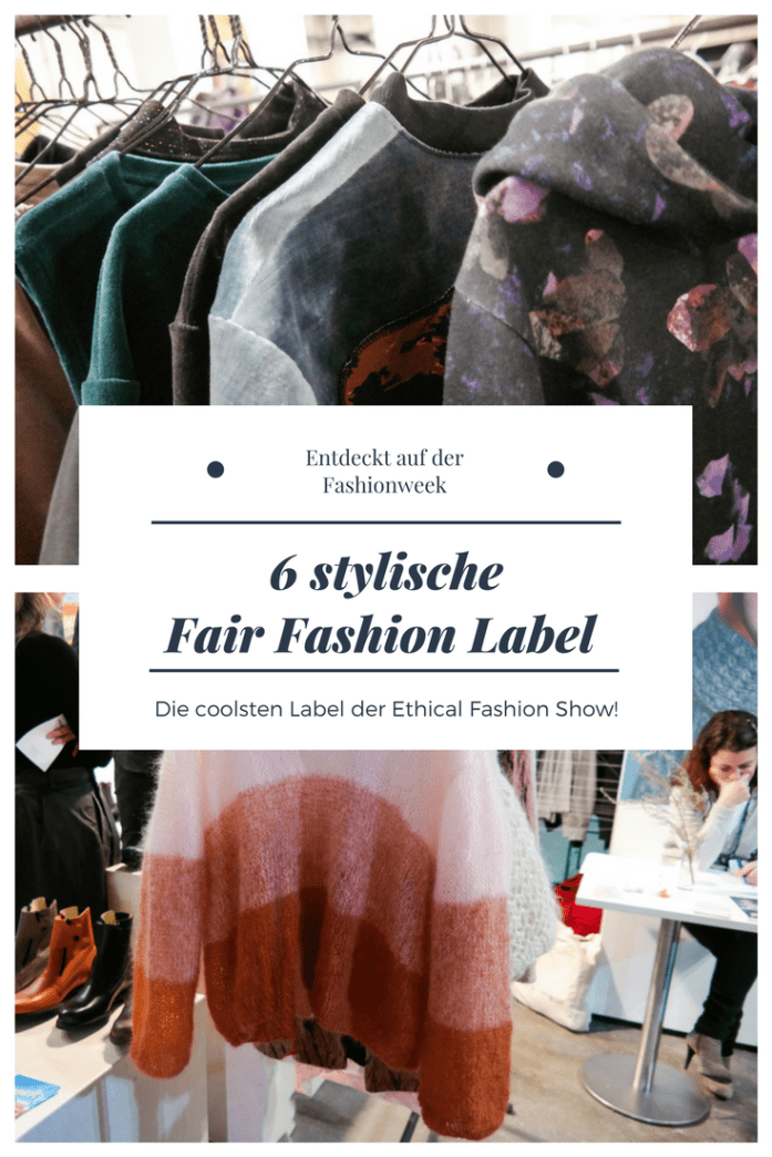 6 stylische Fair Fashion Label