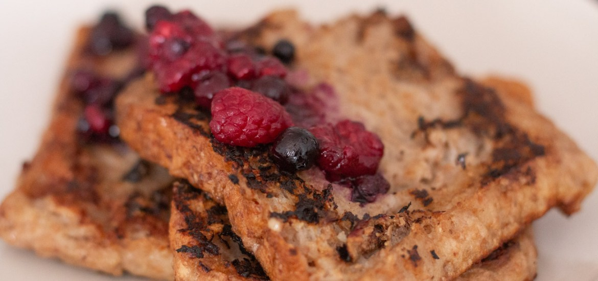 veganes French Toast Rezept