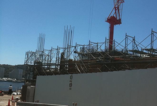 マンション建設中イメージ写真