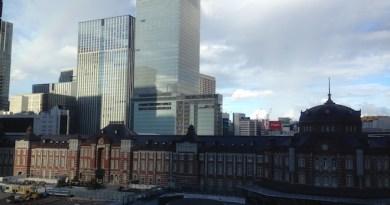 丸の内ビルディングからの東京駅