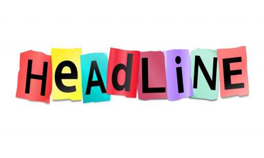 Image result for Images for the word Headline
