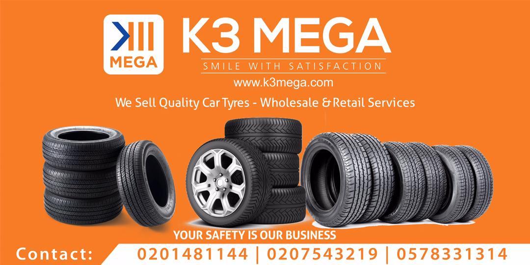 K3 MEGA Logo