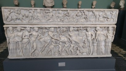 Grave frieze from slightly earlier in the Roman Empire