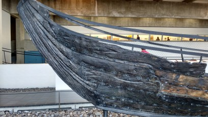 detail from the prow