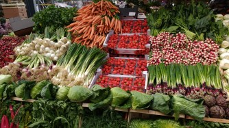 ...and beautiful fruits and veg