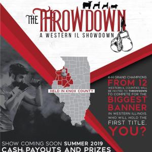 """Local Livestock Exhibitors To Compete For """"Throwdown-Western"""