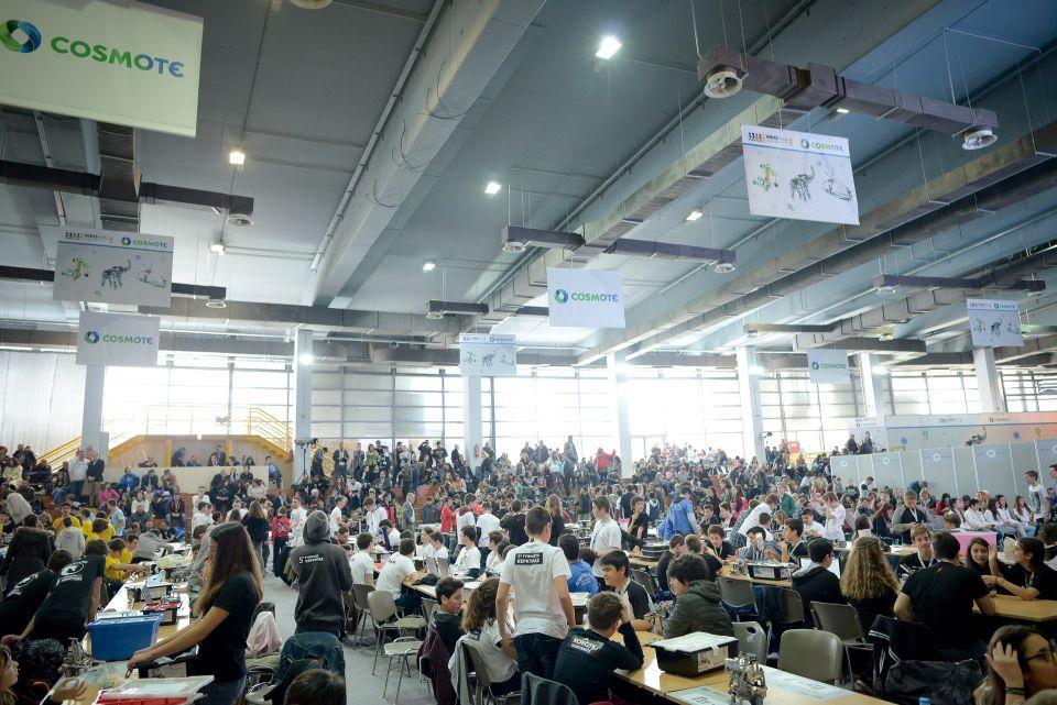 Απολογισμός Πανελλήνιου Διαγωνισμού Εκπαιδευτικής Ρομποτικής