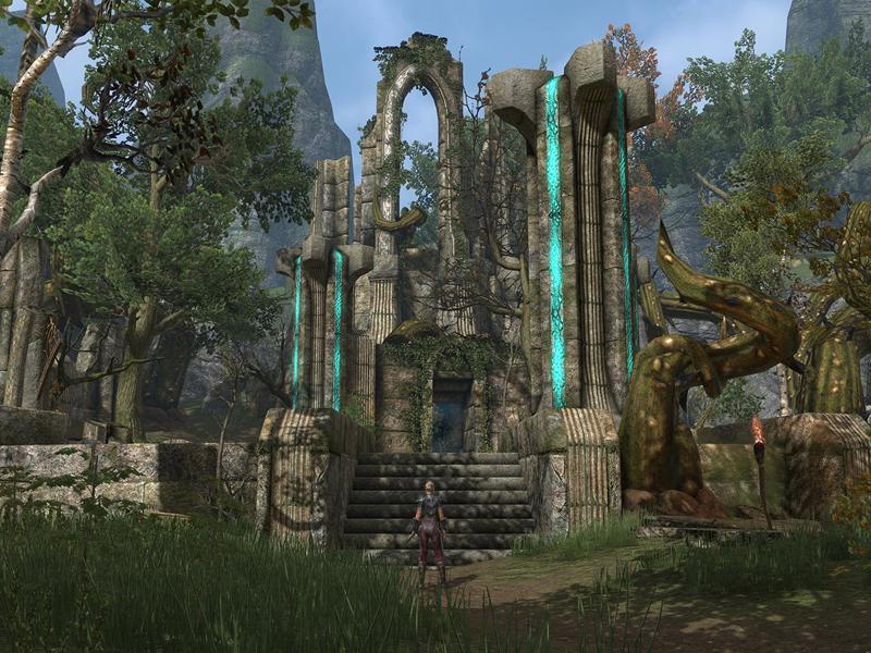 Elder Scrolls Online Ruins Screenshot