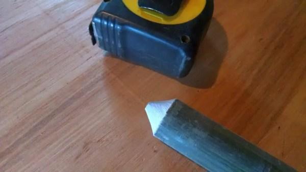 sharpened-tip