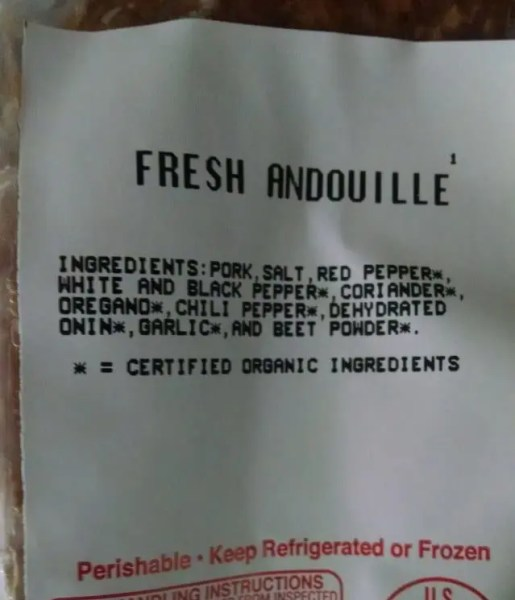 Andouille Label