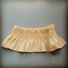 Calico Sample: Shirring
