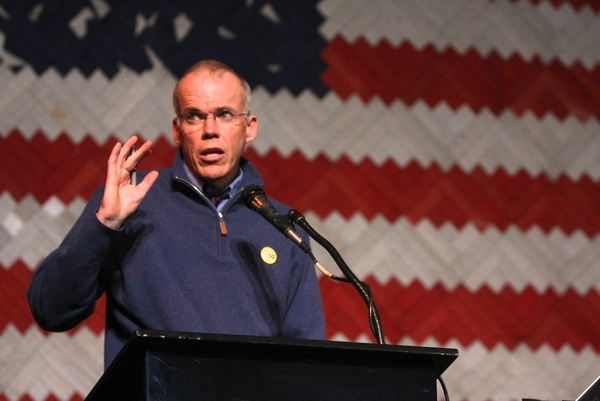 Saturday Keynote Address by Bill McKibben at the Guiding Lights Weekend 2011.