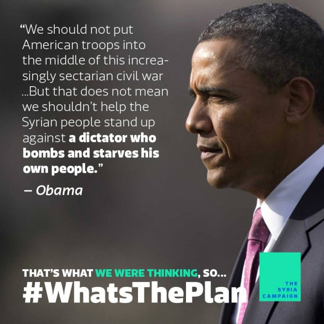 Syria Voices FB photo Obama