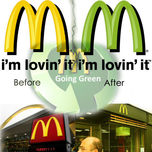 Green Economy Scam McDonalds