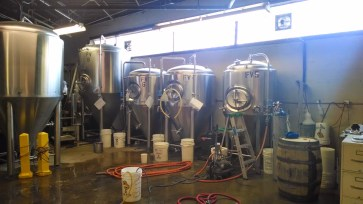 An insider's look at the brewery at Listermann.