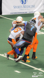 Marquis Jackson had his second multiple-sack game of the season against the Shock.