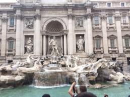 Trevi Fountain, Roma.