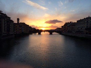 Sunset in Florence, Firenze.