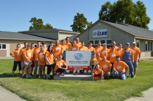 More than 30 WRPS employees and their family members helped paint the teen center at the Boys & Girls Club in Pasco.