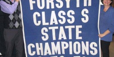 Forsyth High School Championship Banner