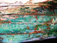 Burghead Boat close-up