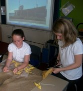 Clootie mat construction