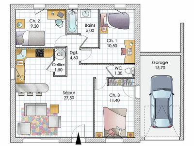 Plan De Petite Maison Gratuit Faire Construire Sa Maison