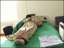 Exorcismo en centro médico checheno