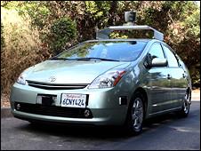 谷歌無人駕駛汽車