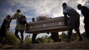 Haiti'de salgın