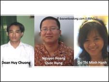 Ba nhà hoạt động trẻ tại Trà Vinh