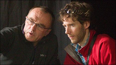 Aron Ralston (right) Danny Boyle (left)