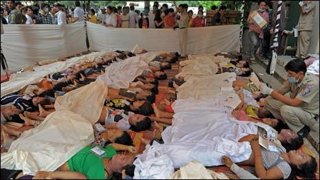 Hơn 345 người thiệt mạng trong vụ xô đẩy trên cầu tại Phnom Penh