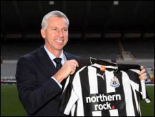 Alan Pardew meneja wa Newcastle