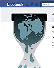WikiLeaks en Facebook