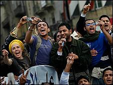Gelombang demo melibatkan ratusan ribu pemuda Mesir