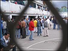 Cárcel La Modelo, en Bogotá.